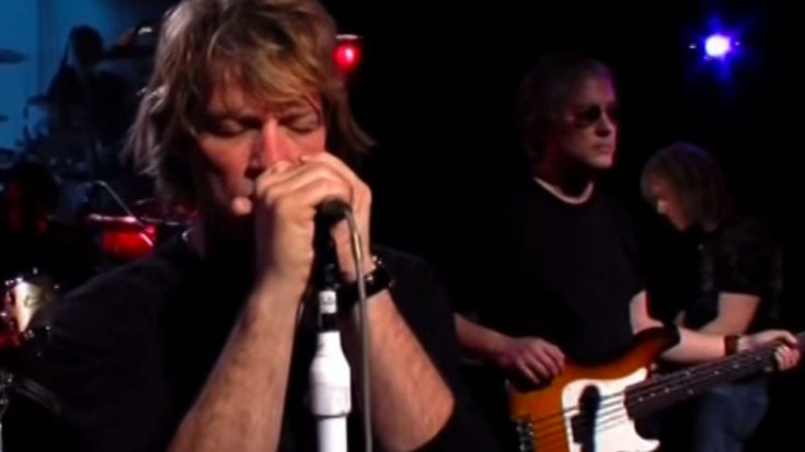 """Bon Jovi's Sings """"Hallelujah"""" So Good You Might Break Down and Cry 