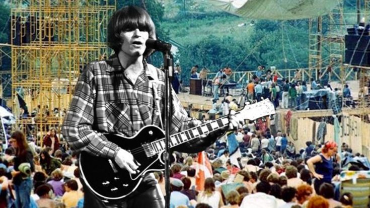 """Woodstock 69′: Creedence Clearwater Rival's """"Born On The Bayou""""   I Love Classic Rock Videos"""