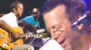Eric Clapton Plays 'Somewhere Over The Rainbow' Acoustic Show- Simply Beautiful