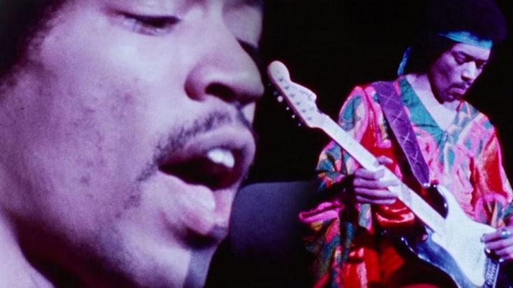 "Jimi Hendrix Shreds With Live ""Purple Haze"" 1970 Atlanta Pop Festival   I Love Classic Rock Videos"