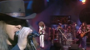 """Ronnie Van Zant Goes Hard Live With """"Double Trouble"""" 1975"""