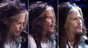 "Steven Tyler Plays ""Dream On"", Famous Rockstar Friend Appears With Sick Solo"