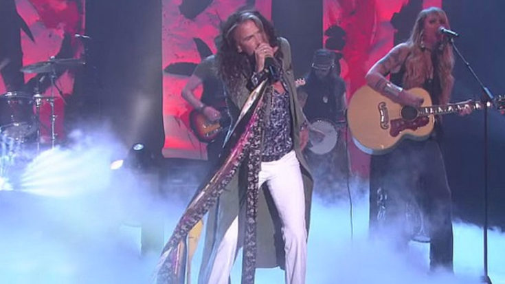 Steven Tyler Performs 'Red White & You' Live And It's As Good As You Thought   I Love Classic Rock Videos
