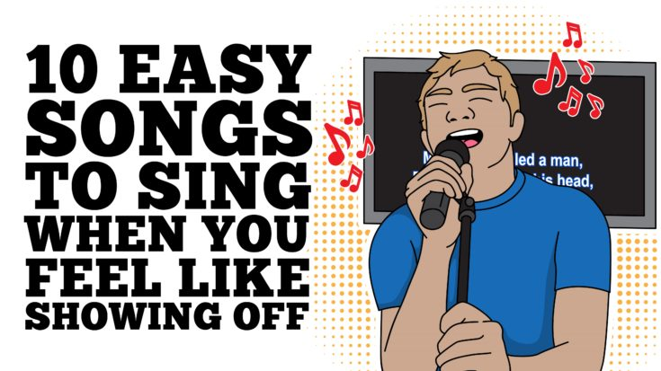 10 Easy Songs To Sing When You Feel Like Showing Off | I Love Classic Rock Videos