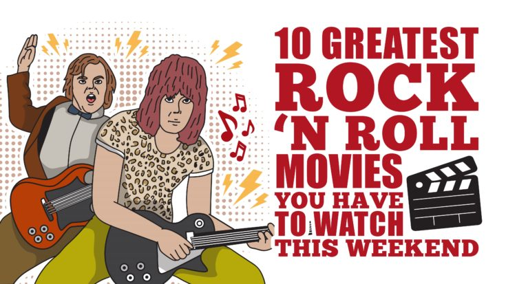 10 Greatest Rock 'n Roll Movies You Have To Watch This Weekend | I Love Classic Rock Videos