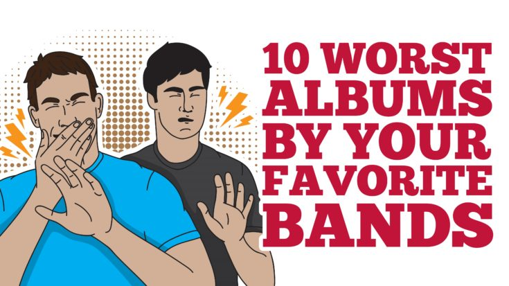 10 Worst Albums By Your Favorite Bands | I Love Classic Rock Videos