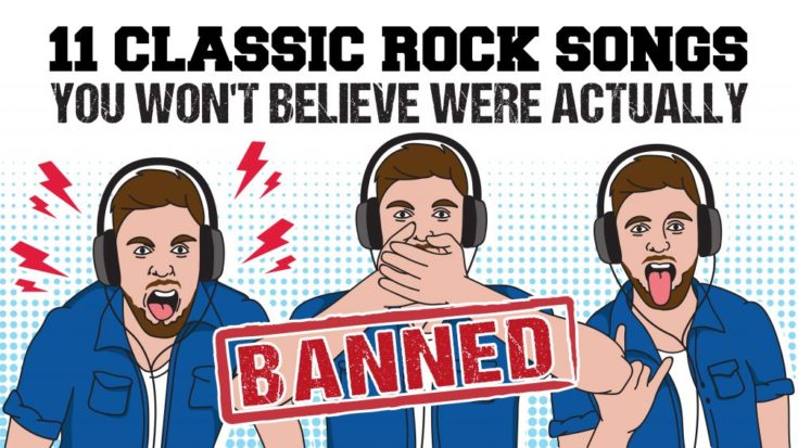 11 Classic Rock Songs You Won't Believe Were Actually Banned | I Love Classic Rock Videos