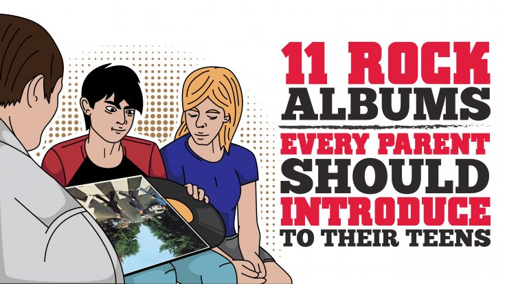 11 Rock Albums Every Parent Should Introduce To Their Teens | I Love Classic Rock Videos