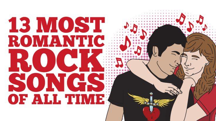 Romantic classic rock songs