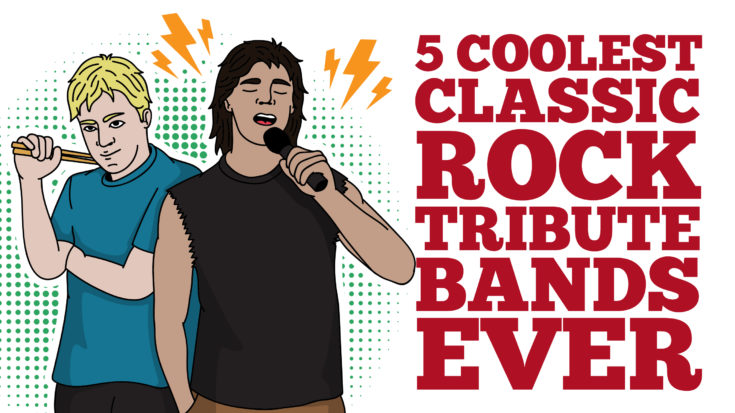 5 Coolest Classic Rock Tribute Bands Ever | I Love Classic Rock Videos