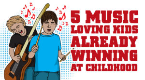 5 Music-Loving Kids Already Winning At Childhood