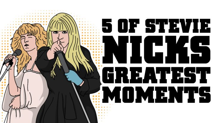 5 Of Stevie Nicks' Greatest Moments | I Love Classic Rock Videos