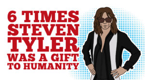 6 Times Steven Tyler Was A Gift To Humanity