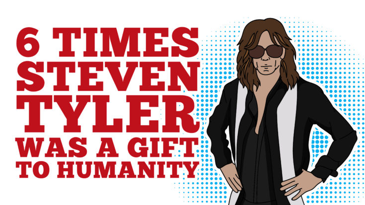 6 Times Steven Tyler Was A Gift To Humanity | I Love Classic Rock Videos