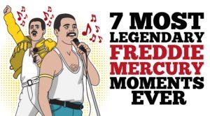 7 Most Legendary Freddie Mercury Moments
