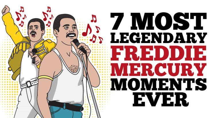7 Most Legendary Freddie Mercury Moments | I Love Classic Rock Videos