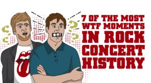 7 Of The Most WTF Moments In Rock Concert History