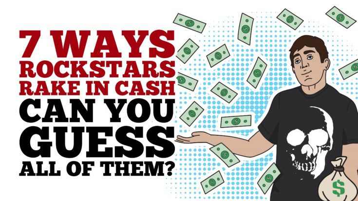 7 Ways Rockstars Rake In Cash – Can You Guess All Of Them? | I Love Classic Rock Videos