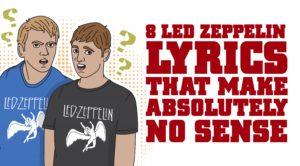 8 Led Zeppelin Lyrics That Make Absolutely No Sense