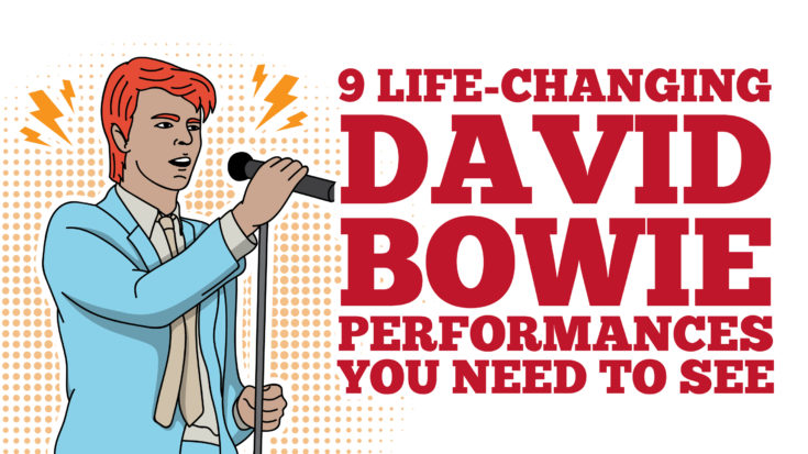 9 Life-Changing David Bowie Performances You Need To See | I Love Classic Rock Videos