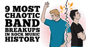 9 Most Chaotic Band Breakups In Rock Music History