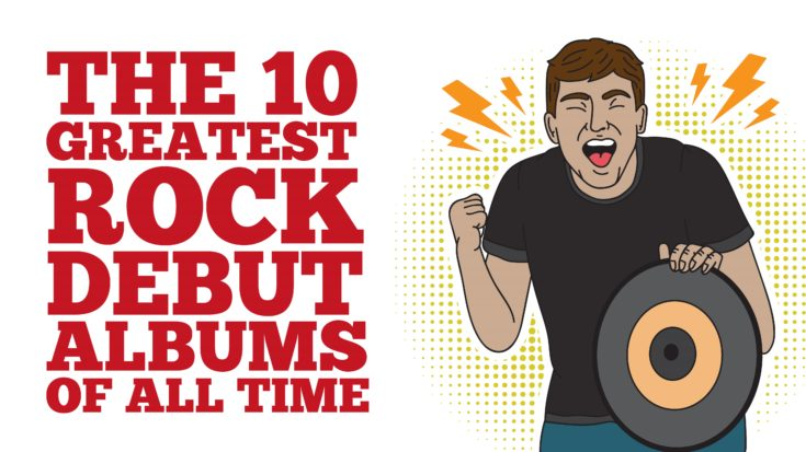 The 10 Greatest Rock Debut Albums Of All Time | I Love Classic Rock Videos