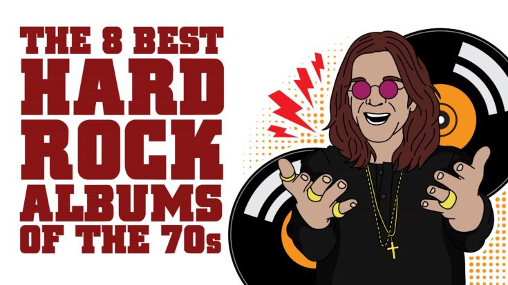 The 8 Best Hard Rock Albums Of The 70s | I Love Classic Rock Videos