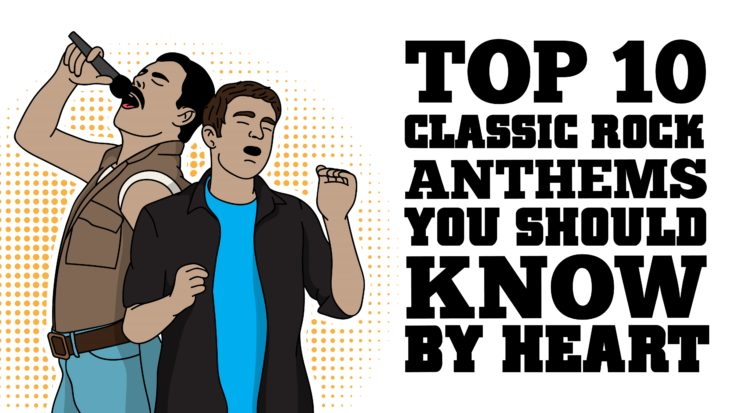 Top 10 Classic Rock Anthems You Should Know By Heart | I Love Classic Rock Videos