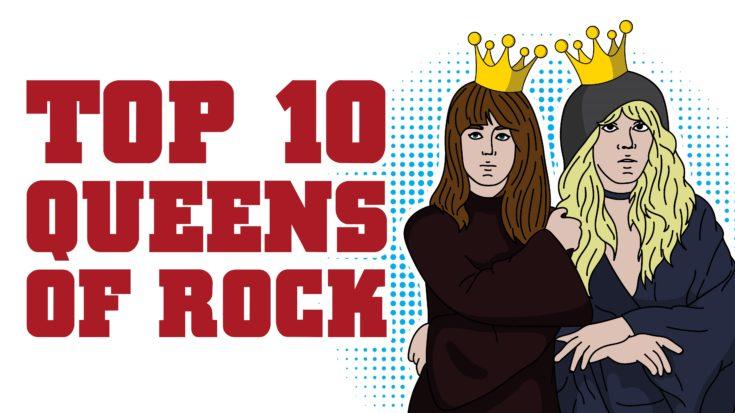 Top 10 Queens Of Rock | I Love Classic Rock Videos