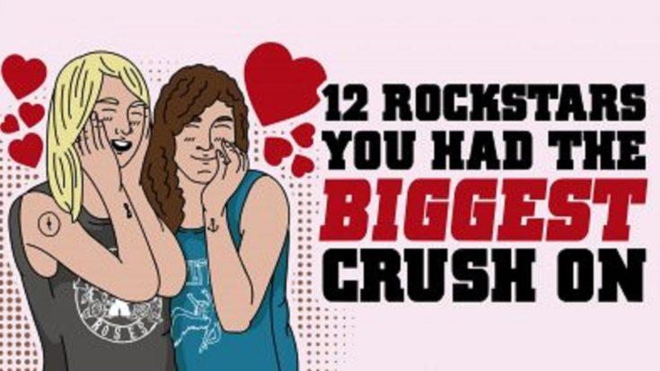 12 Rockstars You Had The BIGGEST Crush On | I Love Classic Rock Videos