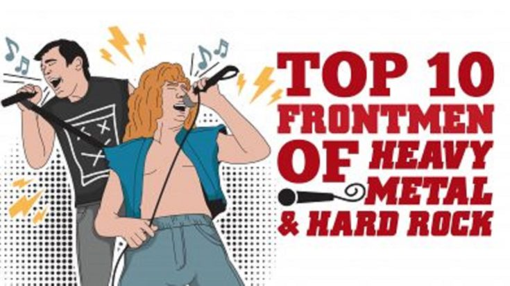 Top 10 Frontmen in Heavy Metal and Hard Rock | I Love Classic Rock Videos
