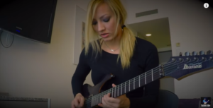 Meet Alice Cooper's Gorgeous Guitarist – She Might Be From Outer Space