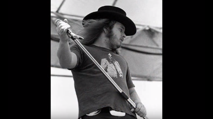 This Is Ronnie Van Zant Singing With No Music – Will Give You Chills | I Love Classic Rock Videos