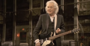 Jimmy Page Shows 2 Modern Rockstars How to Play 'Kashmir' the Proper Way