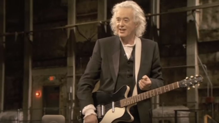 Jimmy Page Shows 2 Modern Rockstars How to Play 'Kashmir' the Proper Way | I Love Classic Rock Videos