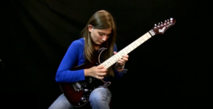 She Turns Beethoven Song Into Metal Shredding Session