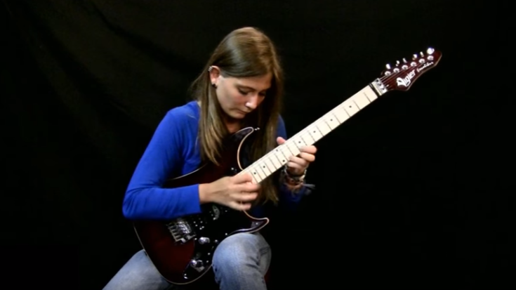 She Turns Beethoven Song Into Metal Shredding Session | I Love Classic Rock Videos