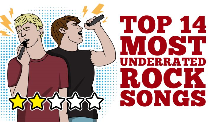Top 14 Most Underrated Rock Songs   I Love Classic Rock Videos