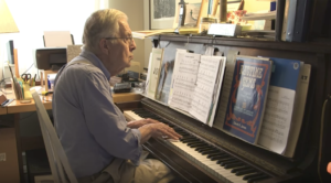 """83 yr old Grandpa Sits at Piano, Plays """"Stairway To Heaven""""- Special Guest Joins Him"""