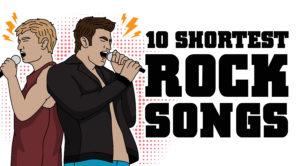 10 Shortest Rock Songs