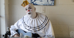 """Huge Sad Clown Sings """"Wish You Were Here"""" – This Is How It's Done"""