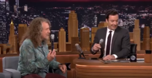 "Jimmy Fallon and Robert Plant Doo Wop ""Duke of Earl"""