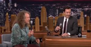 "Jimmy Fallon and Robert Plant Doo Wop ""Duke of Earl"""