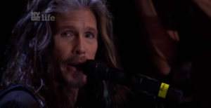 "Steven Tyler's Laid Back Rendition Of ""Dream On"" Is Too Pure For This World"