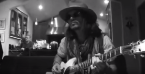 Johnny Depp Shows Off His Guitar Chops With Face-Melting Solo