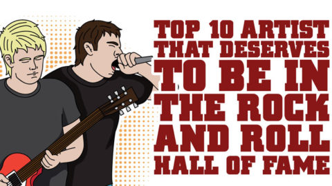 Top 10 Artists That Deserve To Be In The Rock And Roll Hall of Fame | I Love Classic Rock Videos