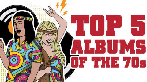 Top 5 Album of the 70's | I Love Classic Rock Videos