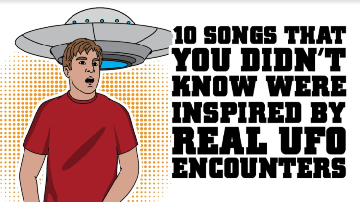 10 Songs That You Didn't Know Were Inspired By UFO Encounters   I Love Classic Rock Videos