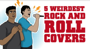 5 Weirdest Rock 'n Roll Covers