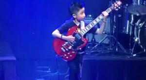 9-Year Old Shreds Medley Of Van Halen & Black Sabbath—Melts Everyone's Faces Off